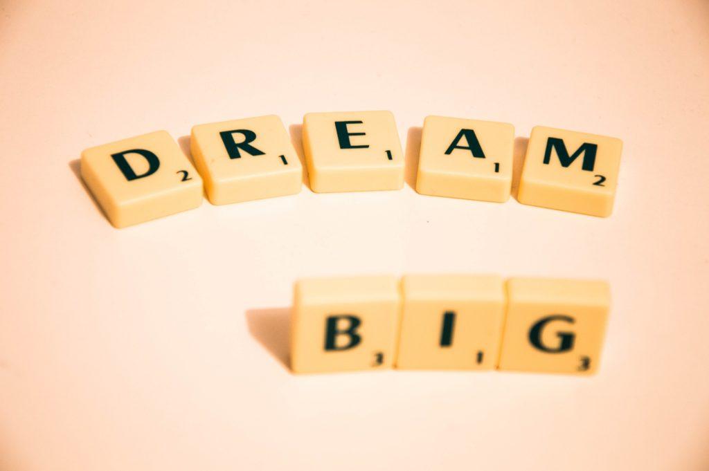 Trau dich zu träumen- von Klarheit und Stolpersteinen
